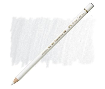 Faber Castell Polychromos Coloured Pencil 101 White