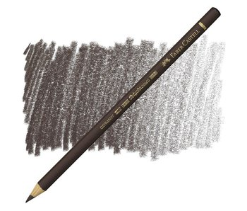 Faber Castell Polychromos Coloured Pencil 177 Walnut Brown