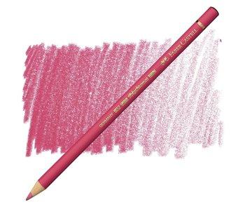 Faber Castell Polychromos Coloured Pencil 124 Rose Carmine