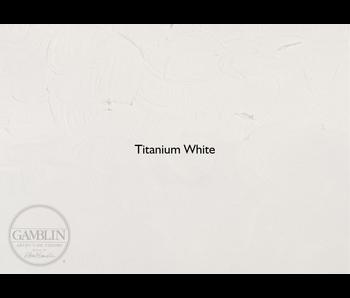 GAMBLIN ARTIST'S OIL 150ML TITANIUM WHITE