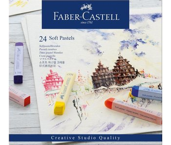 Faber Castell Soft Pastels 24PK Set