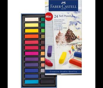 Faber Castell Soft Pastels Mini 24PK Set