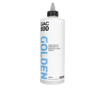 Golden Medium 16oz Gac 800 Low Crazing Extender for Pouring Acrylic Colors