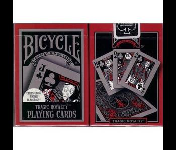 BICYCLE PLAYING CARDS: TRAGIC ROYALTY