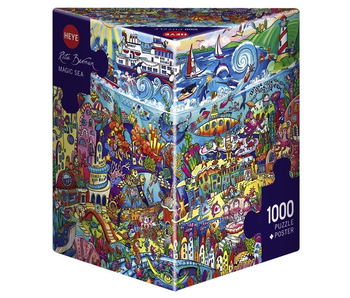 HEYE 1000 PC PUZZLE - MAGIC SEA (BERMAN)