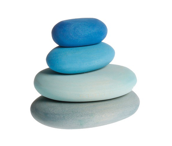 Grimm's Spiel Und Holz Design: Blue River Pebbles