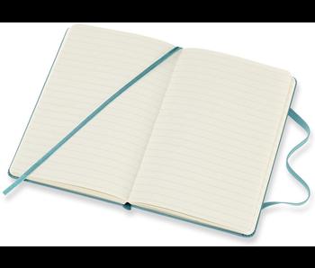 Moleskine Classic Notebook, Pocket, Ruled, Blue Reef, Hard Cover (3.5 X 5.5)
