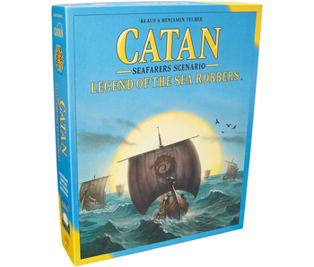 CATAN EXPANSION: SEAFARERS SCENARIO - LEGEND OF THE SEA ROBBERS