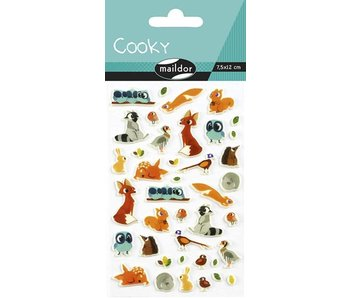 Cooky Sticker Pack: Animals Of The Forest
