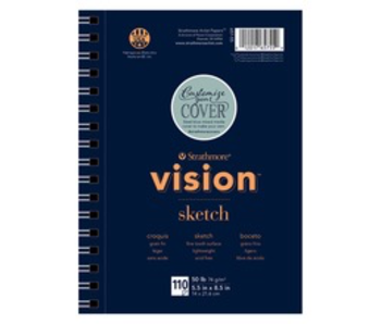 STRATHMORE VISION SKETCH 50 LB 5.5 X 8.5