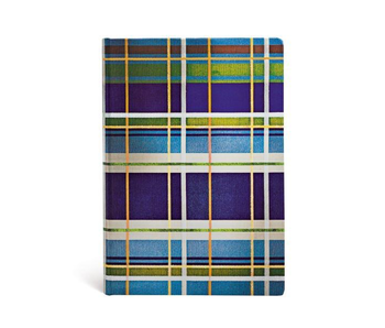 PAPERBLANKS JOURNAL MAD FOR PLAID DAVENPORT MIDI UNLINED