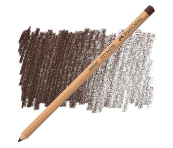 Faber Castell Pitt Pastel Pencil 177 Walnut Brown