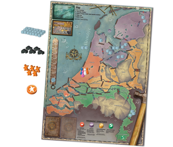 PANDEMIC BOARD GAME - RISING TIDE
