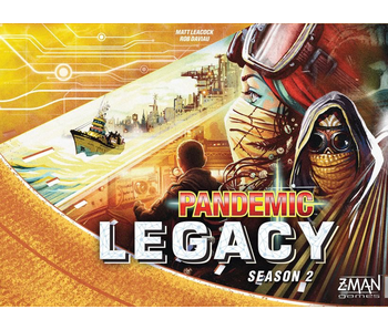 PANDEMIC LEGACY BOARD GAME - SEASON 2 (YELLOW EDITION)