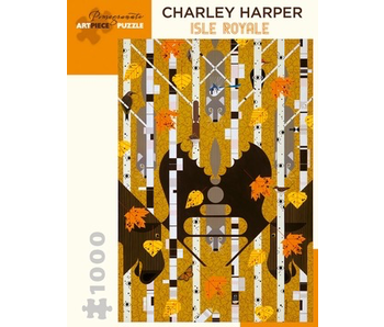 POMEGRANATE ARTPIECE PUZZLE 1000 PIECE: CHARLEY HARPER ISLE ROYALE