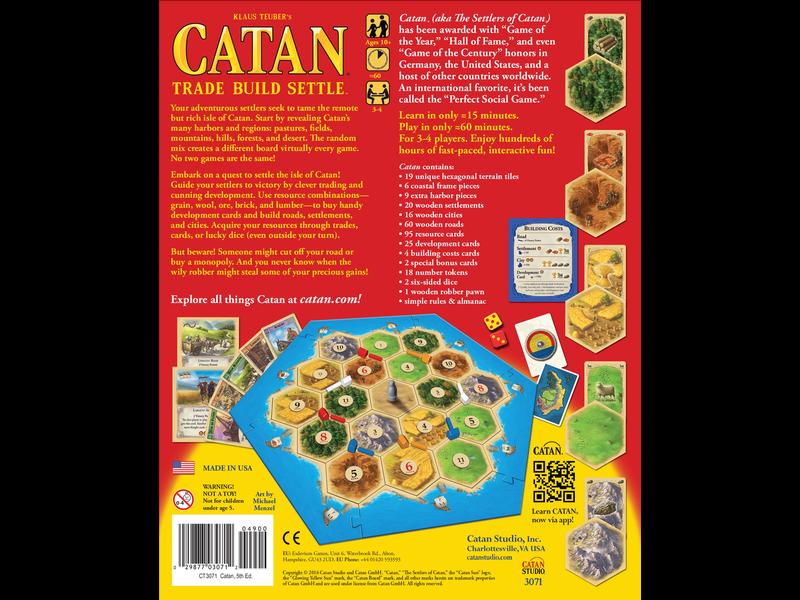 CATAN: BASE GAME