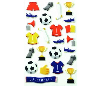 "Cooky Sticker Pack: Soccer ""Football"""
