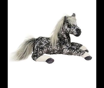 DOUGLAS CUDDLE TOY PLUSH REMY BLACK DAPPLED HORSE SMALL