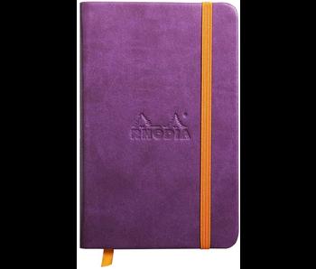 Rhodia Rhodiarama Notebook 3.5x5.5 Purple Lined