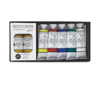 M. GRAHAM 5PK SET: SOLVENT FREE OIL COLOR SET