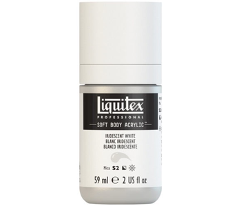 LIQUITEX SOFT BODY ACRYLIC  59ML IRID WHITE