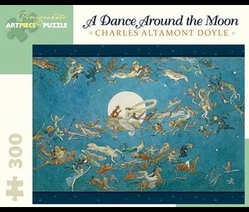POMEGRANATE ARTPIECE PUZZLE 300 PIECE: DOYLE DANCE AROUND THE MOON