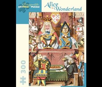 POMEGRANATE ARTPIECE PUZZLE 300 PIECE: ALICE IN WONDERLAND