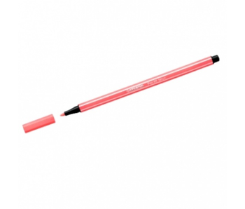 STABILO PEN 68 FLUORESCENT RED #056