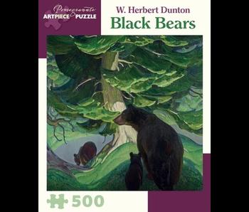 POMEGRANATE ARTPIECE PUZZLE 500 PIECE: BLACK BEARS