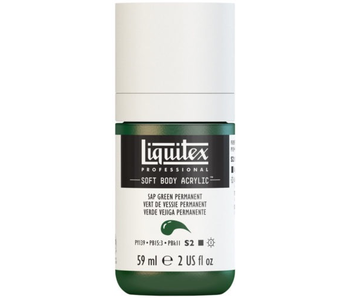 LIQUITEX SOFT BODY ACRYLIC  59ML SAP GRN PERM