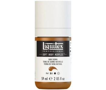 LIQUITEX SOFT BODY ACRYLIC  59ML RAW SIENNA