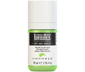 LIQUITEX SOFT BODY ACRYLIC  59ML BRLLNT YLW GN