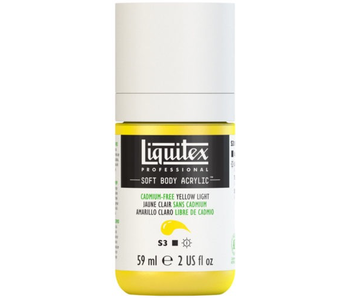 LIQUITEX SOFT BODY ACRYLIC  59ML CAD FR YLW LT