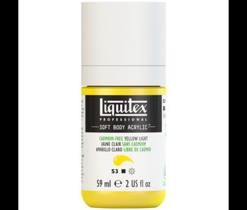 LIQUITEX SOFT BODY ACRYLIC  59ML CAD FR YLW LT
