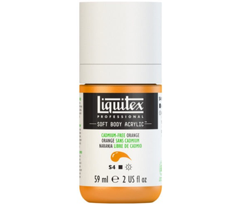LIQUITEX SOFT BODY ACRYLIC  59ML CAD FR ORANGE