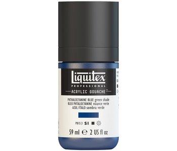 LIQUITEX ACRYLIC GOUACHE 59ML PHTHALO BLUE (GS)