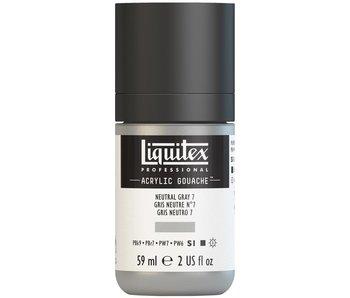LIQUITEX ACRYLIC GOUACHE 59ML NEUTRAL GREY 7
