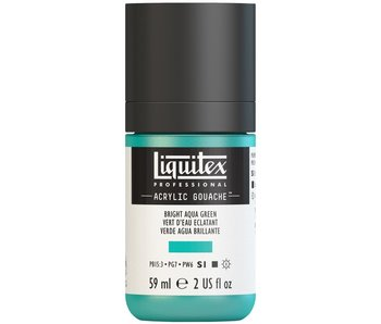LIQUITEX ACRYLIC GOUACHE 59ML BRIGHT AQUA GREEN