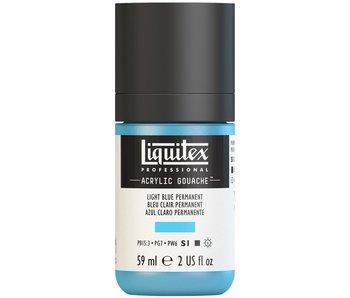 LIQUITEX ACRYLIC GOUACHE 59ML LIGHT BLUE PERMANENT