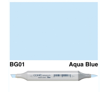 COPIC SKETCH BG01 AQUA BLUE