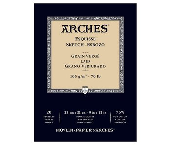 ARCHES SKETCH PAD 9X12 20SH(3)