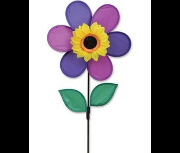 12 Inch Purple Flower Spinner