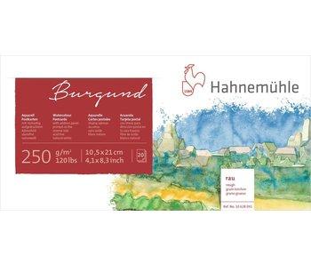 "Hahnemuhle Watercolour Postcard Pad 20 sheet pad 250gsm  Rough surface 4.1x8.3"""
