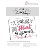 Hahnemuhle Hand Lettering Pads 170gsm 25 sheet pad