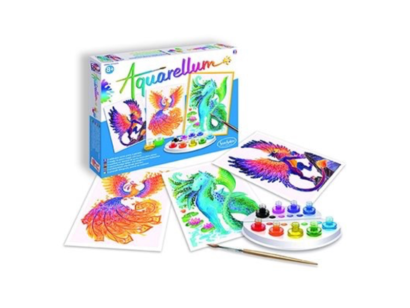 Aquarellum: Magic Canvas Large Mythical Animals