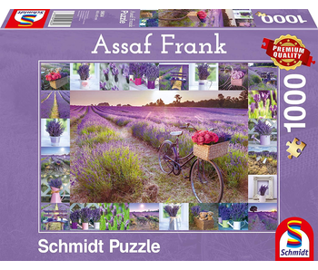 Schmidt Puzzle 1000 Scent of Lavender