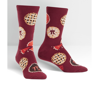 Sock It To Me Women's Crew: Easy as Pi