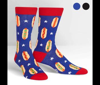 Sock It To Me Men's Crew: Foot Long