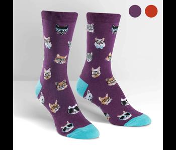 Sock It To Me Women's Crew: Smarty Cats