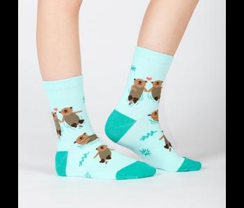 Sock It To Me Junior Crew : My Otter Half